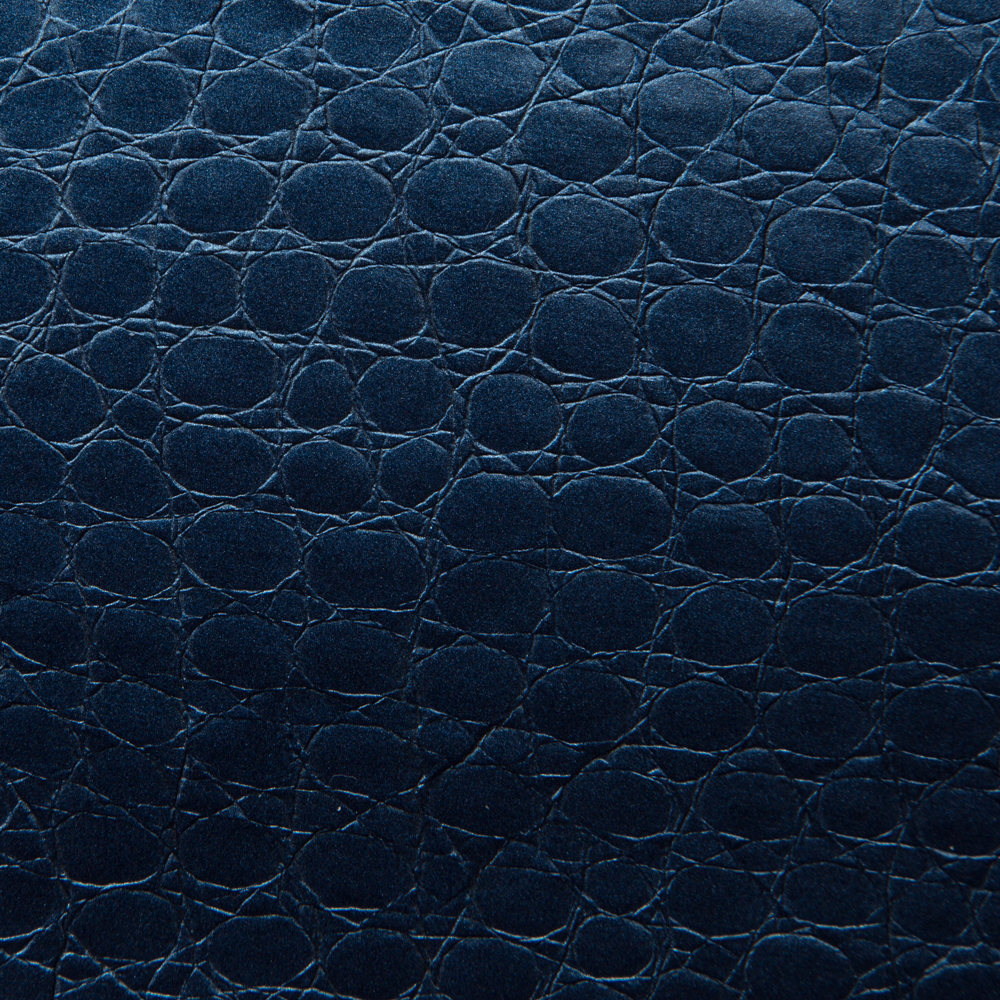Faux Leather Upholstery Cobalt