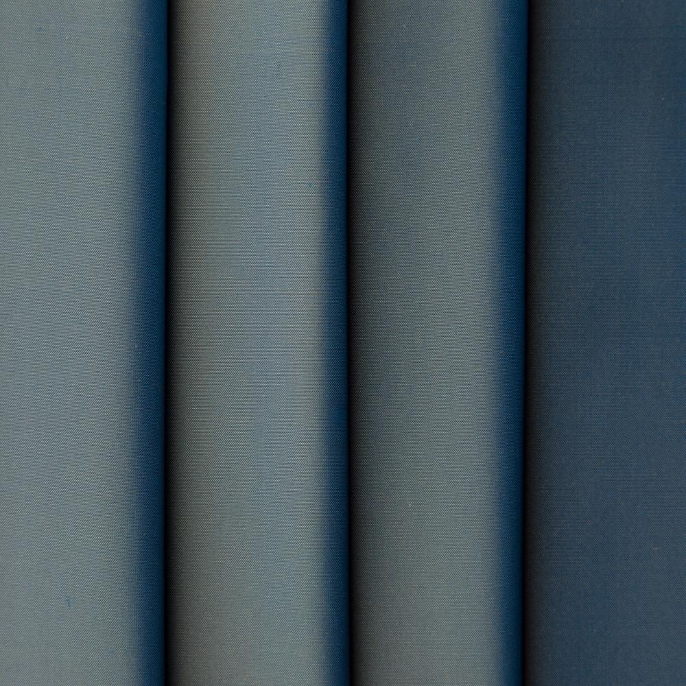 Silk Taffeta Metallic Blue