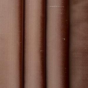 Silk Dupione Red Sand