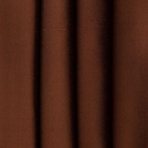 Silk Dupione Rust