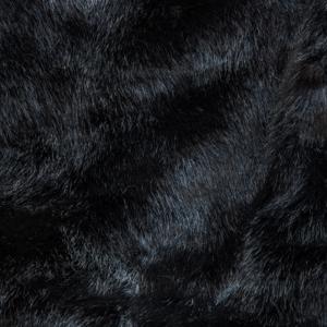 Faux Furs Black Pelted Mink