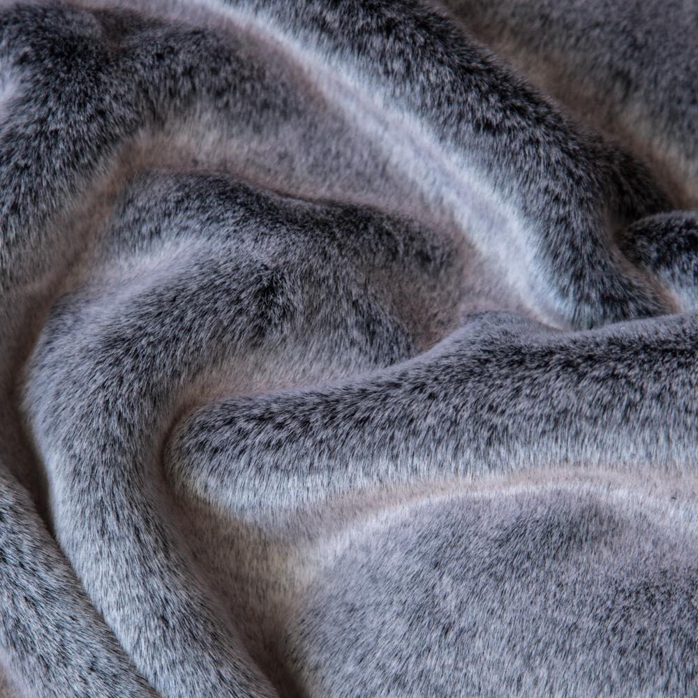 Faux Furs Grey Indigo Fox