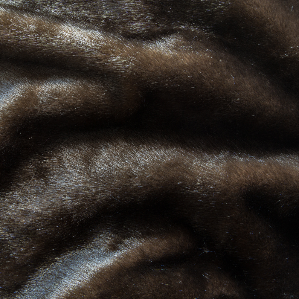 Faux Furs Long-haired Brown Beaver