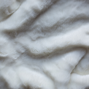 Faux Furs White Winter Mink