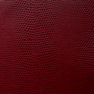 Faux Leather Upholstery Komodo Scarlet